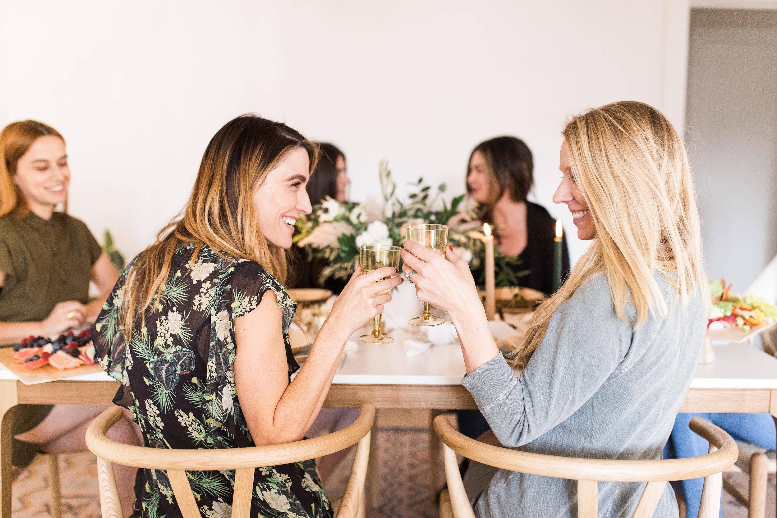 indoor girlfriends brunch ideas from livingforaged.com