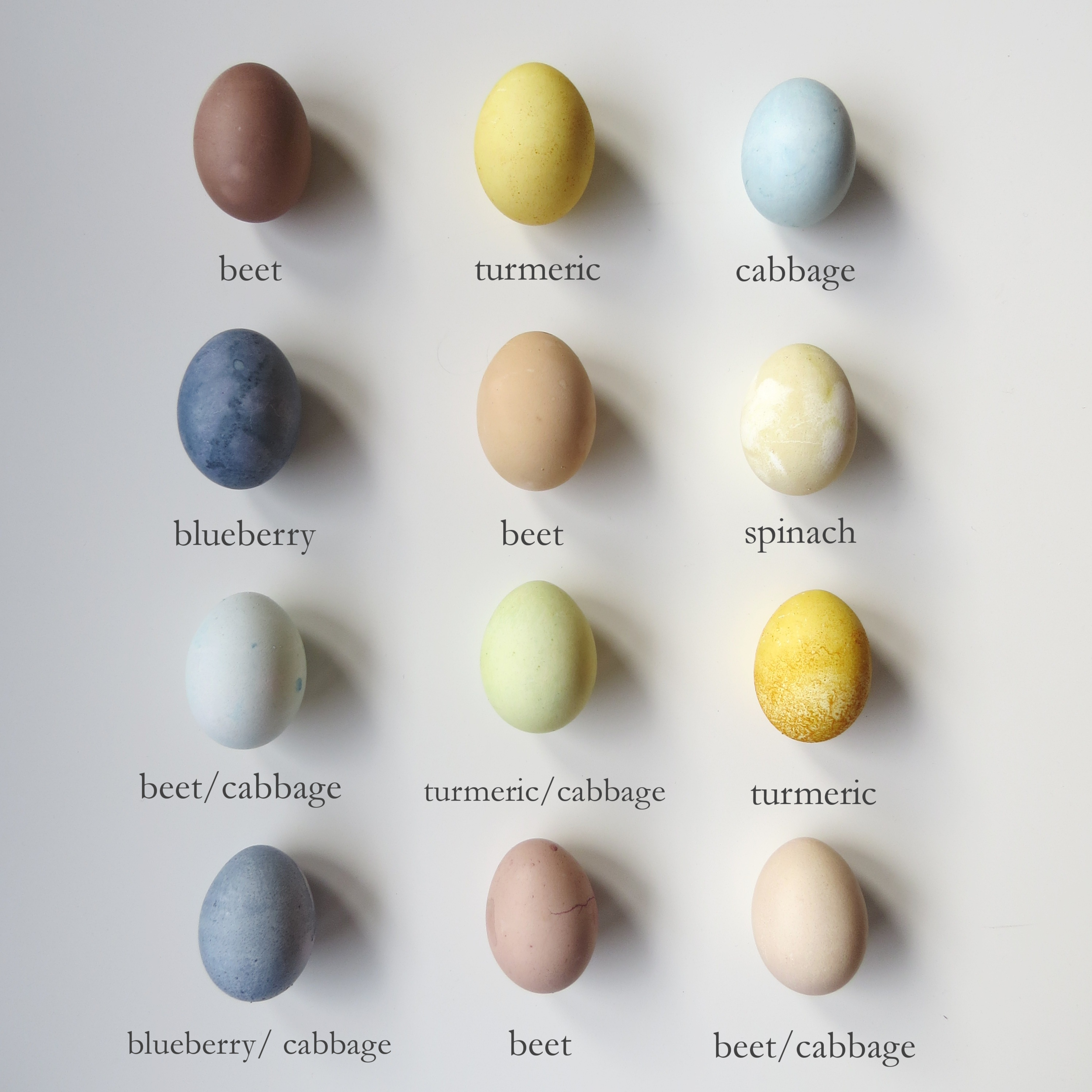 naturally dyed easter eggs, pastel colored dyed easter eggs from fruits and vegetables