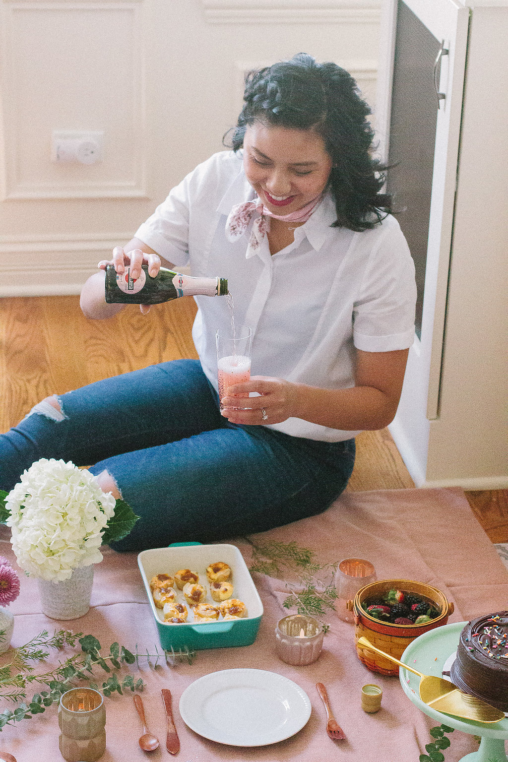 rds obsessions indoor picnic ideas
