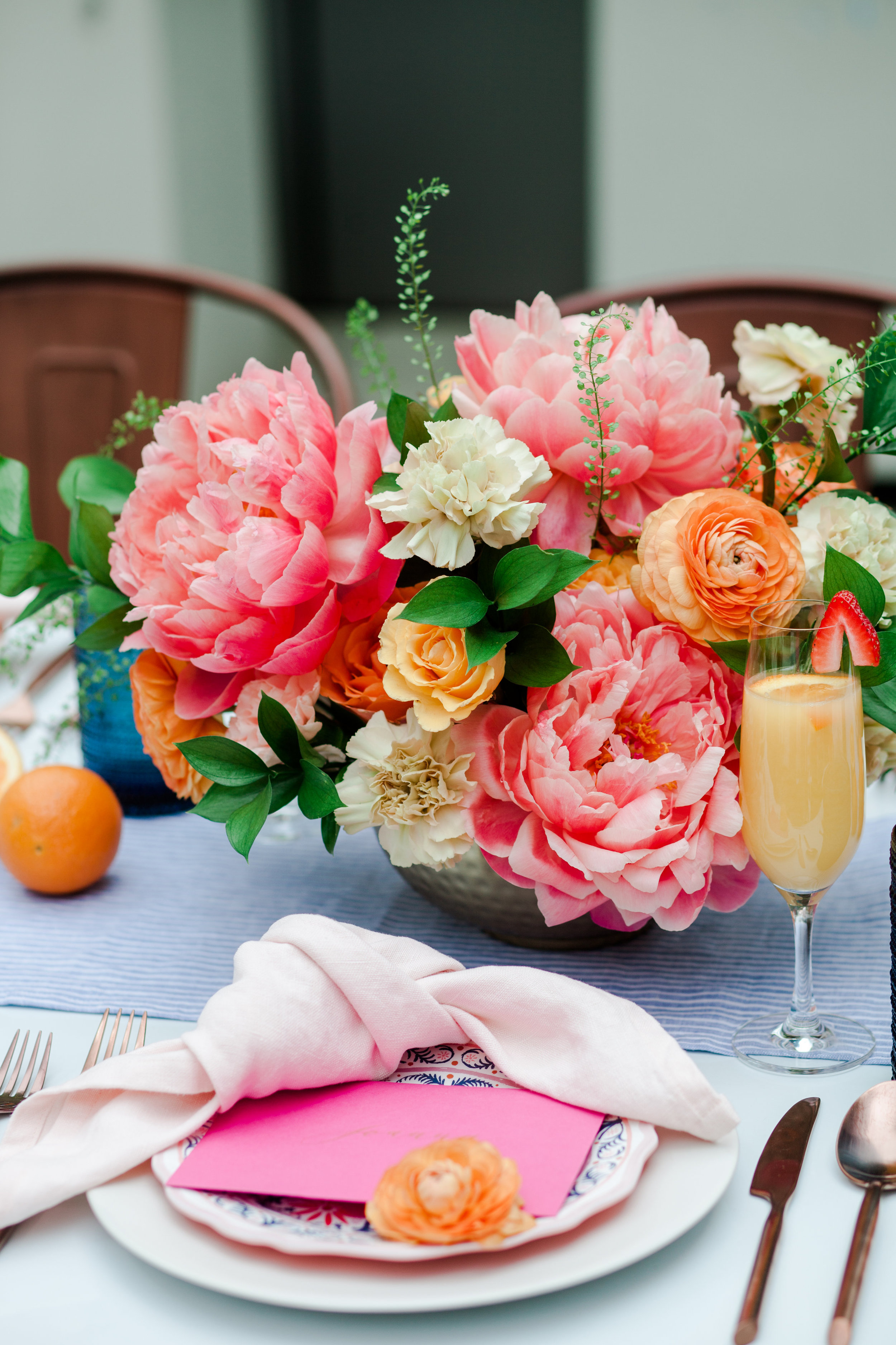 mothers day brunch on nyc rooftop decor ideas
