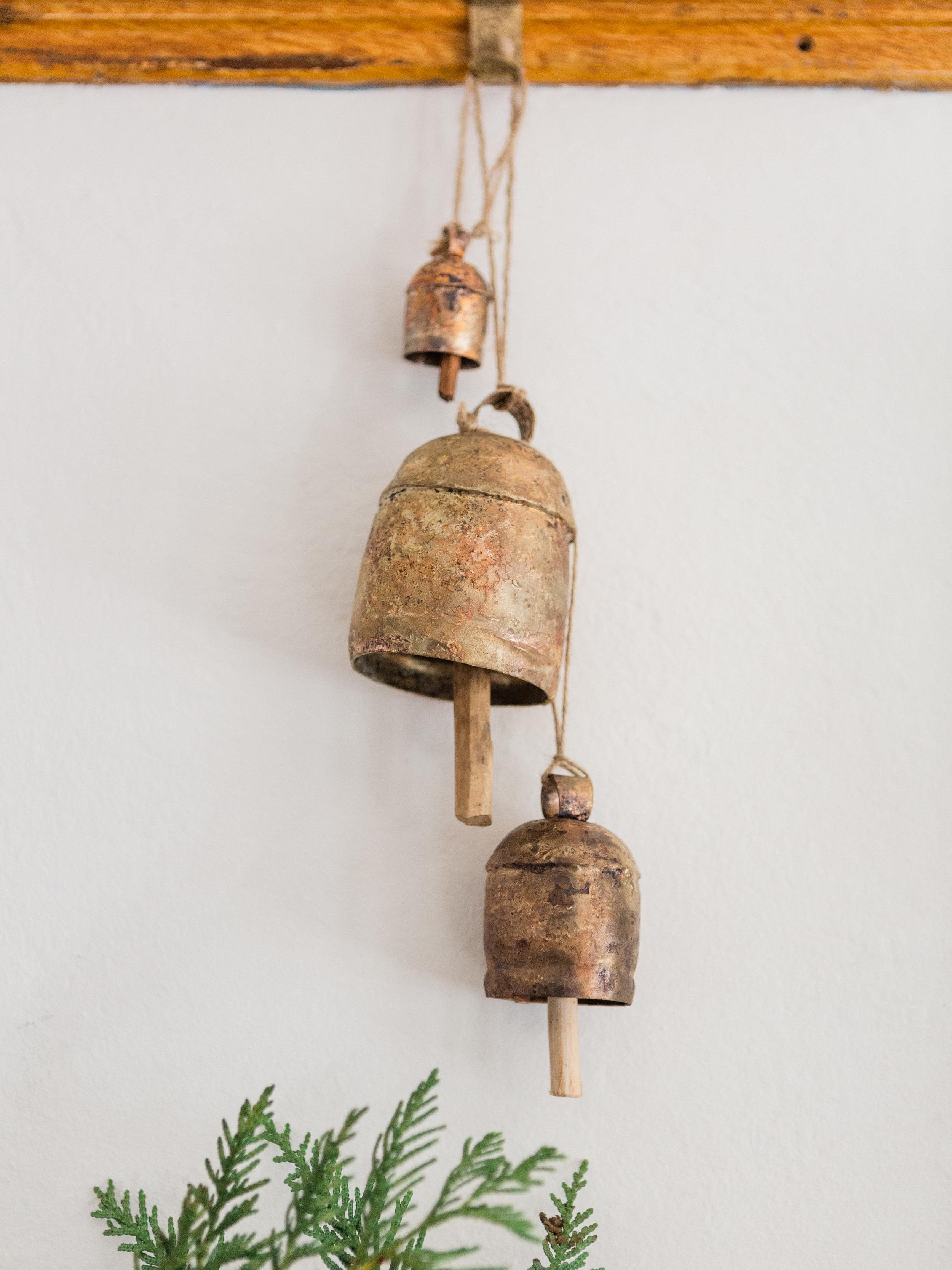 vintage bells foragedhome.com