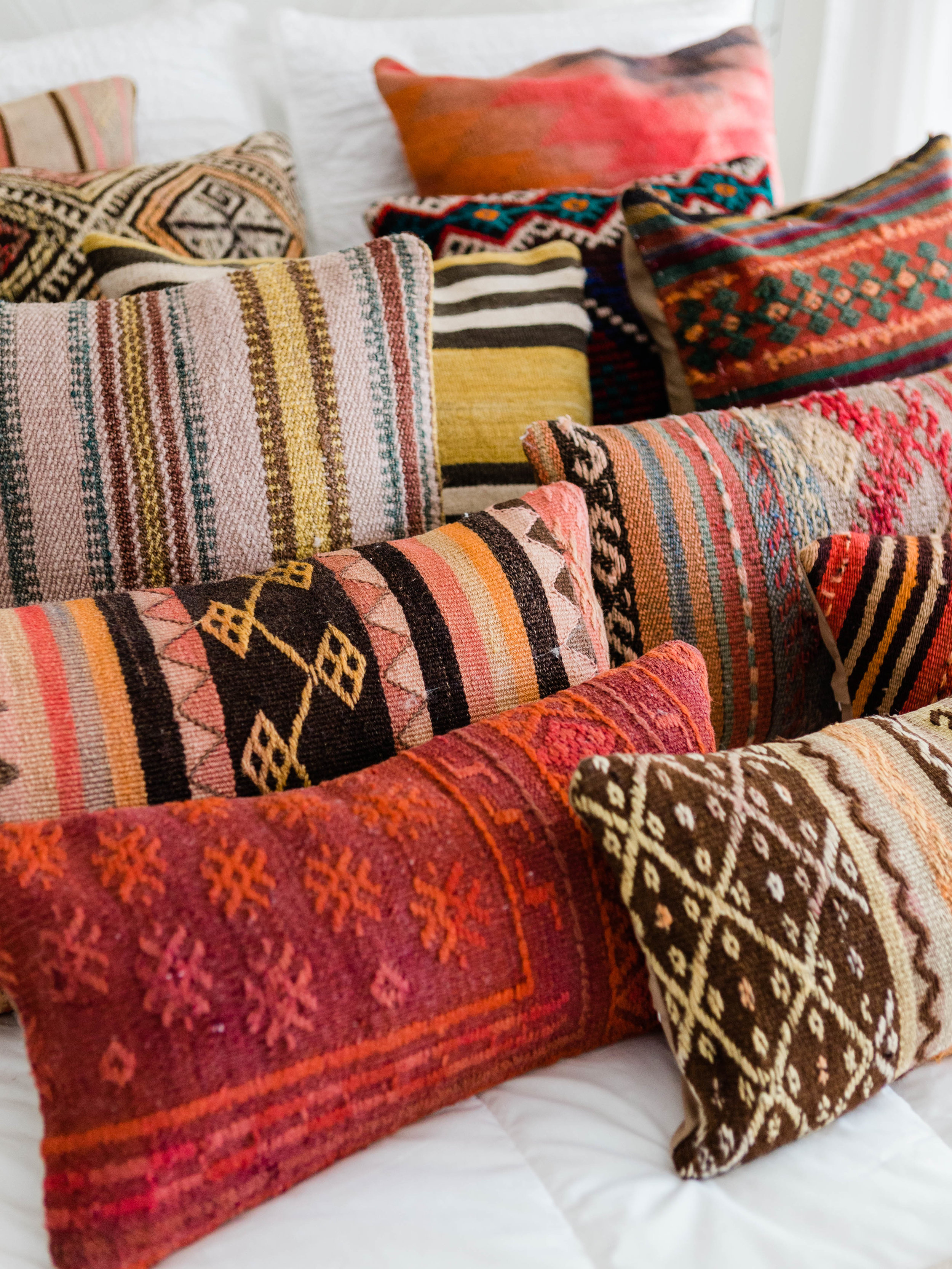 kilim pillow covers at foragedhome.com