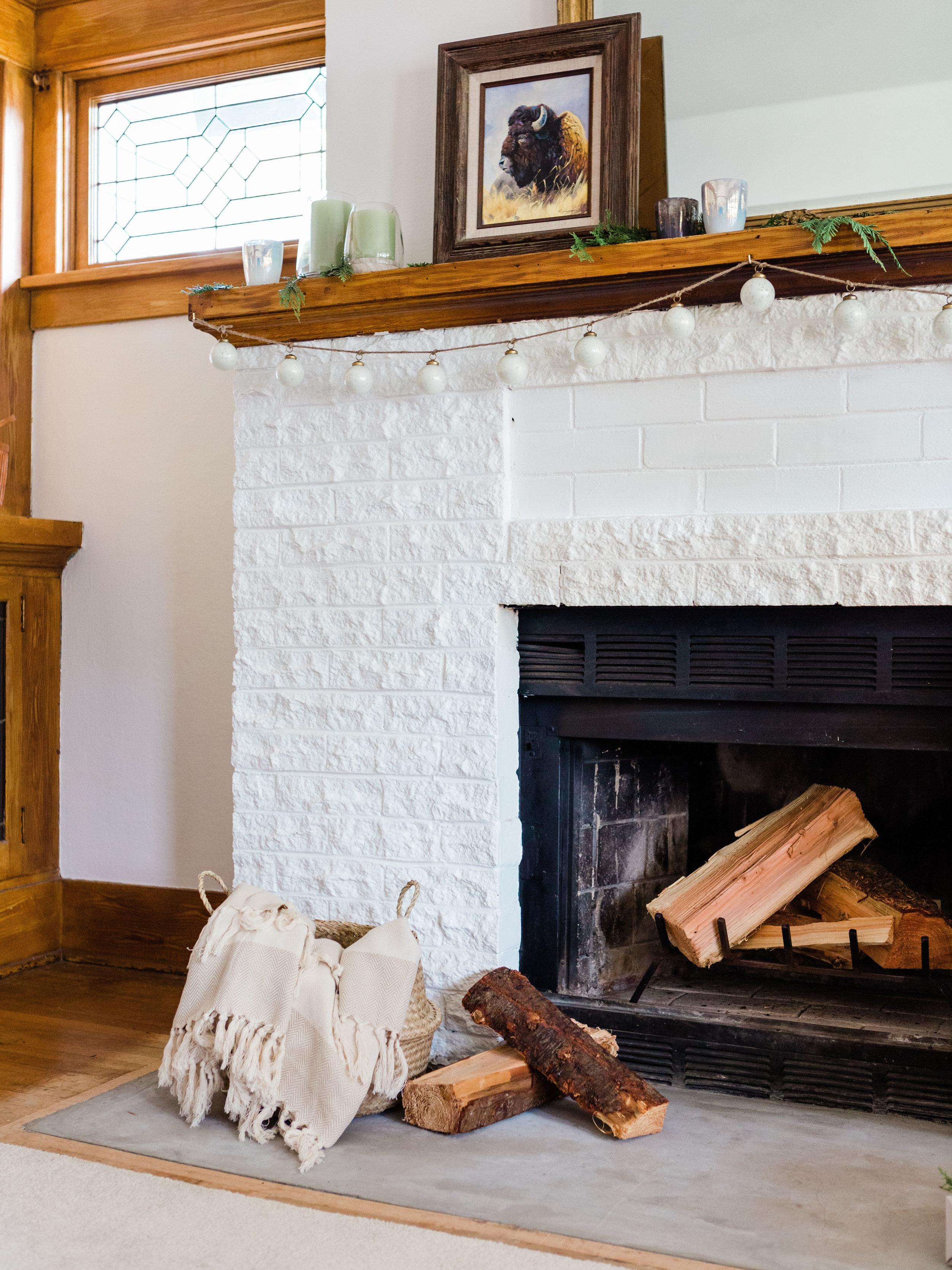 craftsman home mantle decor