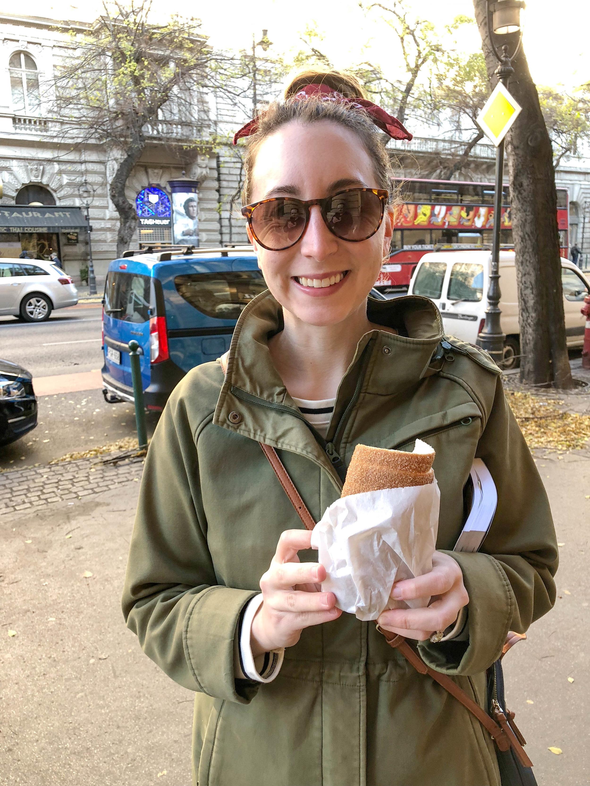 budapest hungary travel guide chimney cake