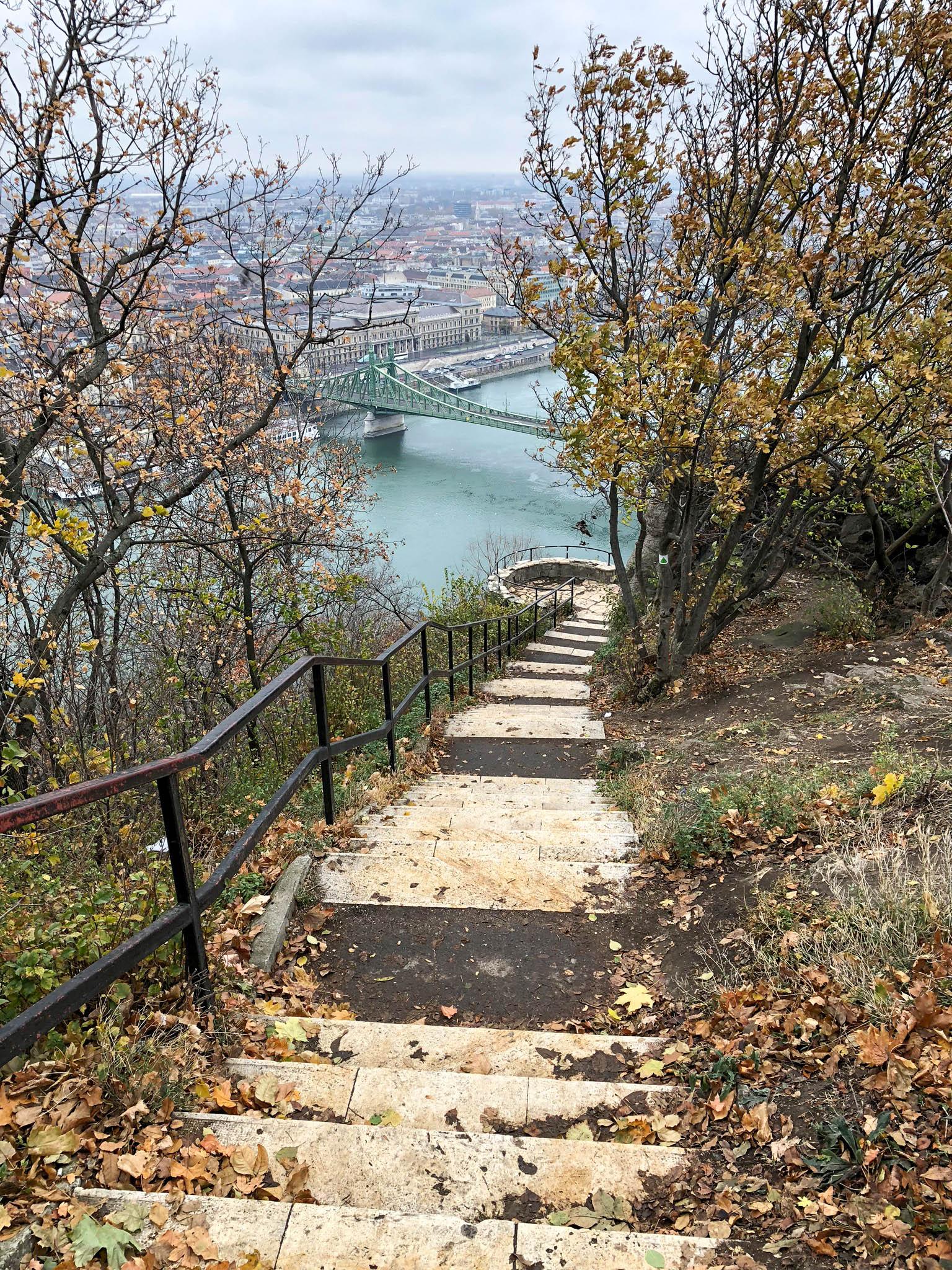 budapest hungary travel guide gellert hill