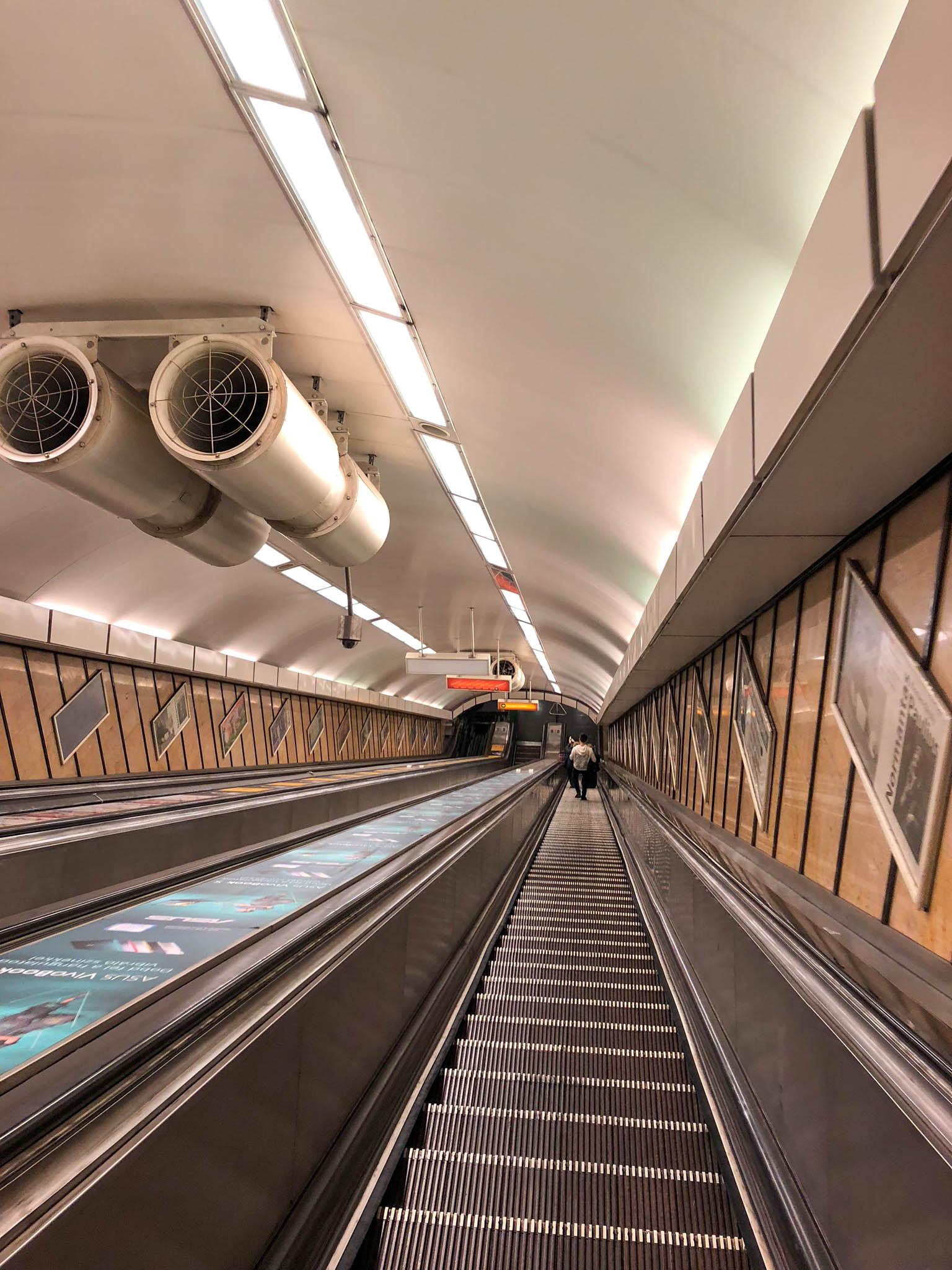 budapest hungary travel guide escalators