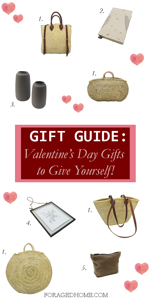 valentines day gift guide home decor items to gift yourself valentines day foragedhome.com
