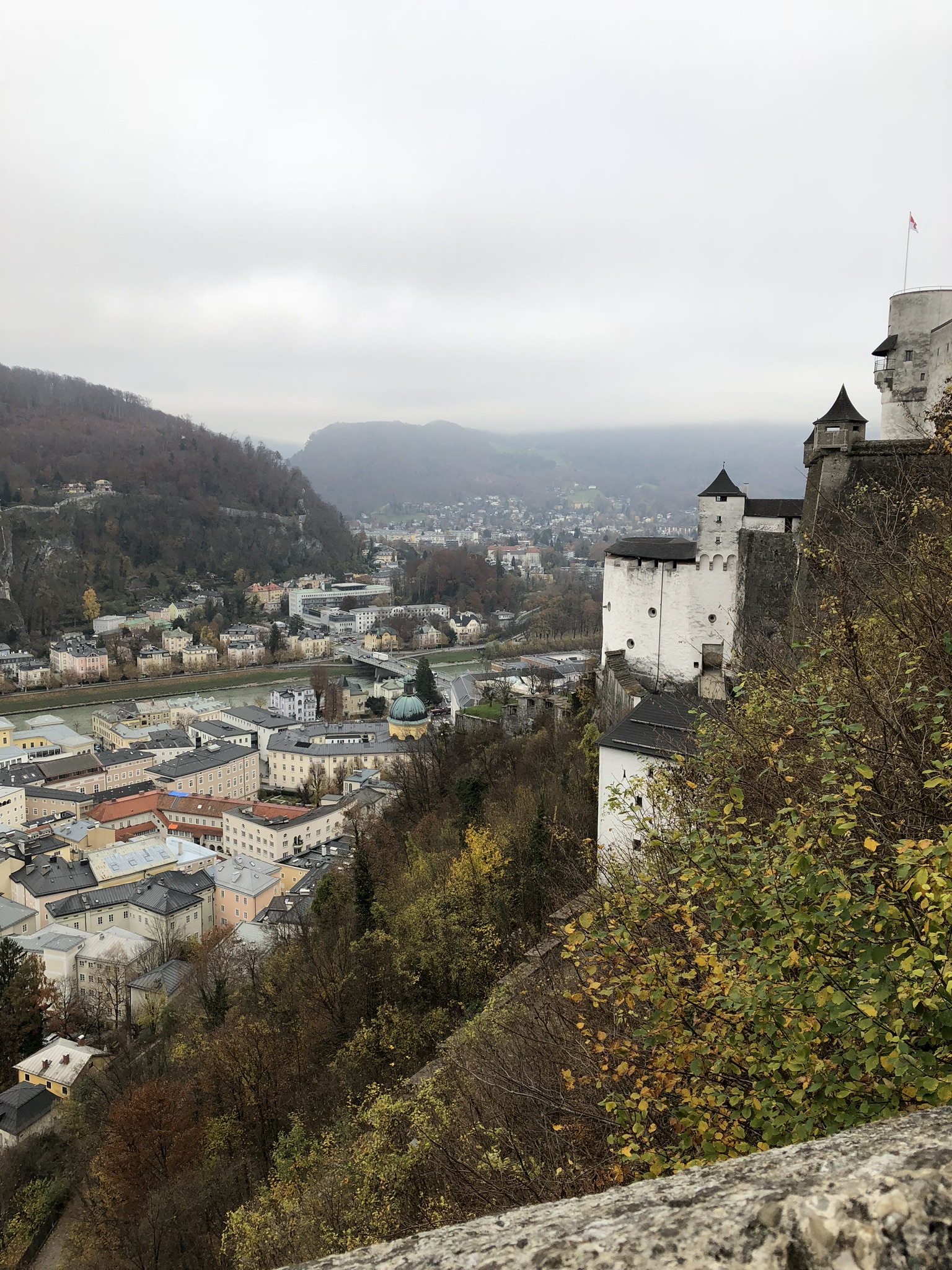 Salzburg, Austria travel guide for winter/November from livingforaged.com