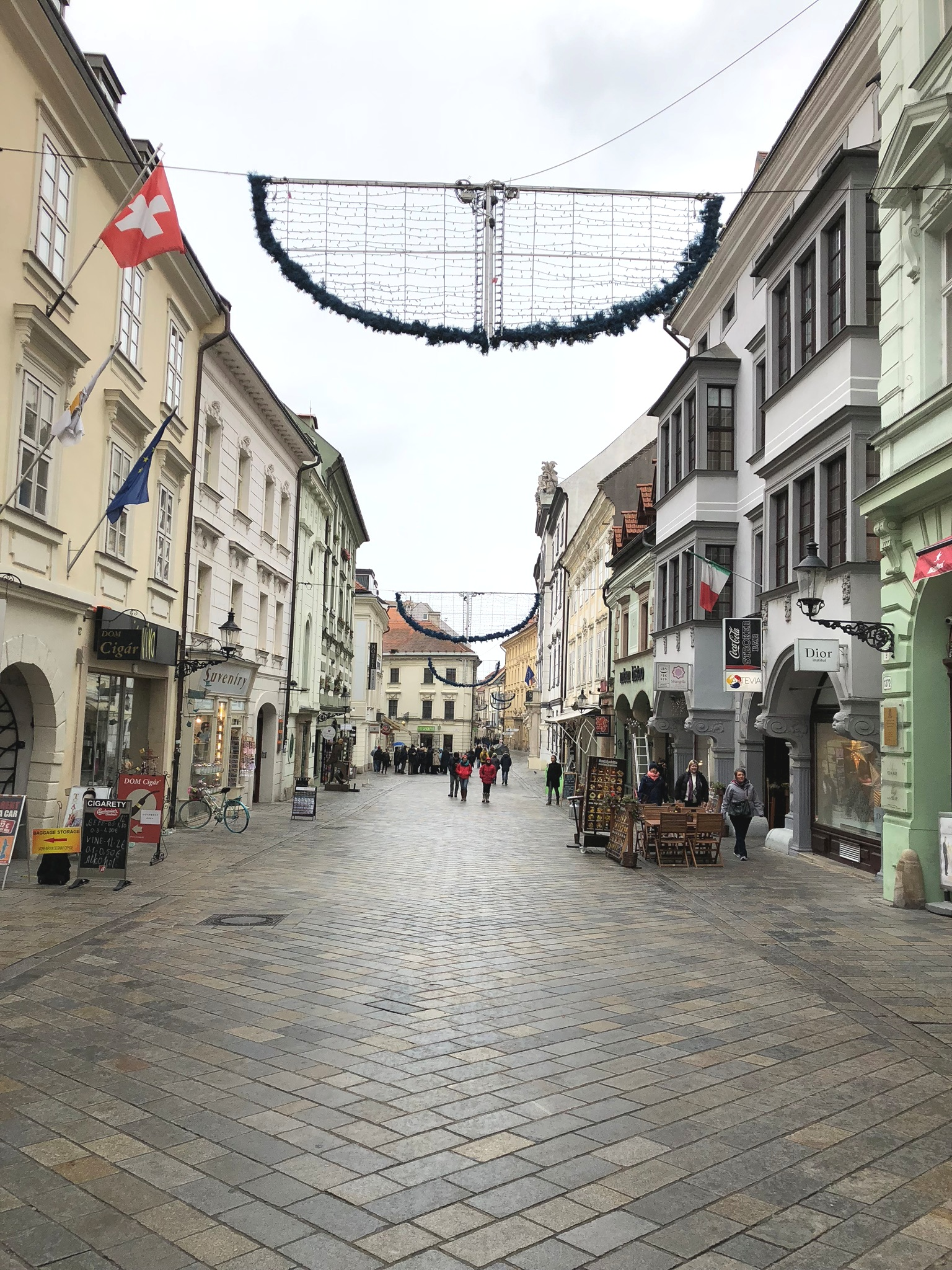the best travel guide for visiting bratislava, slovakia during the winter time