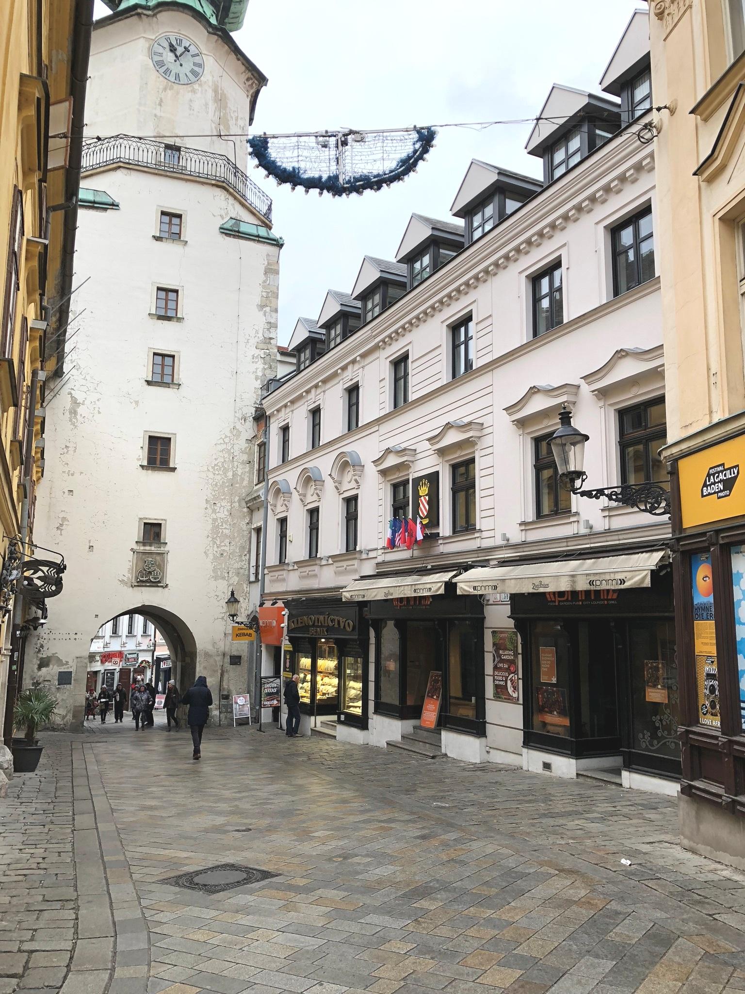 winter travel guide for bratislava, slovakia on livingforaged.com