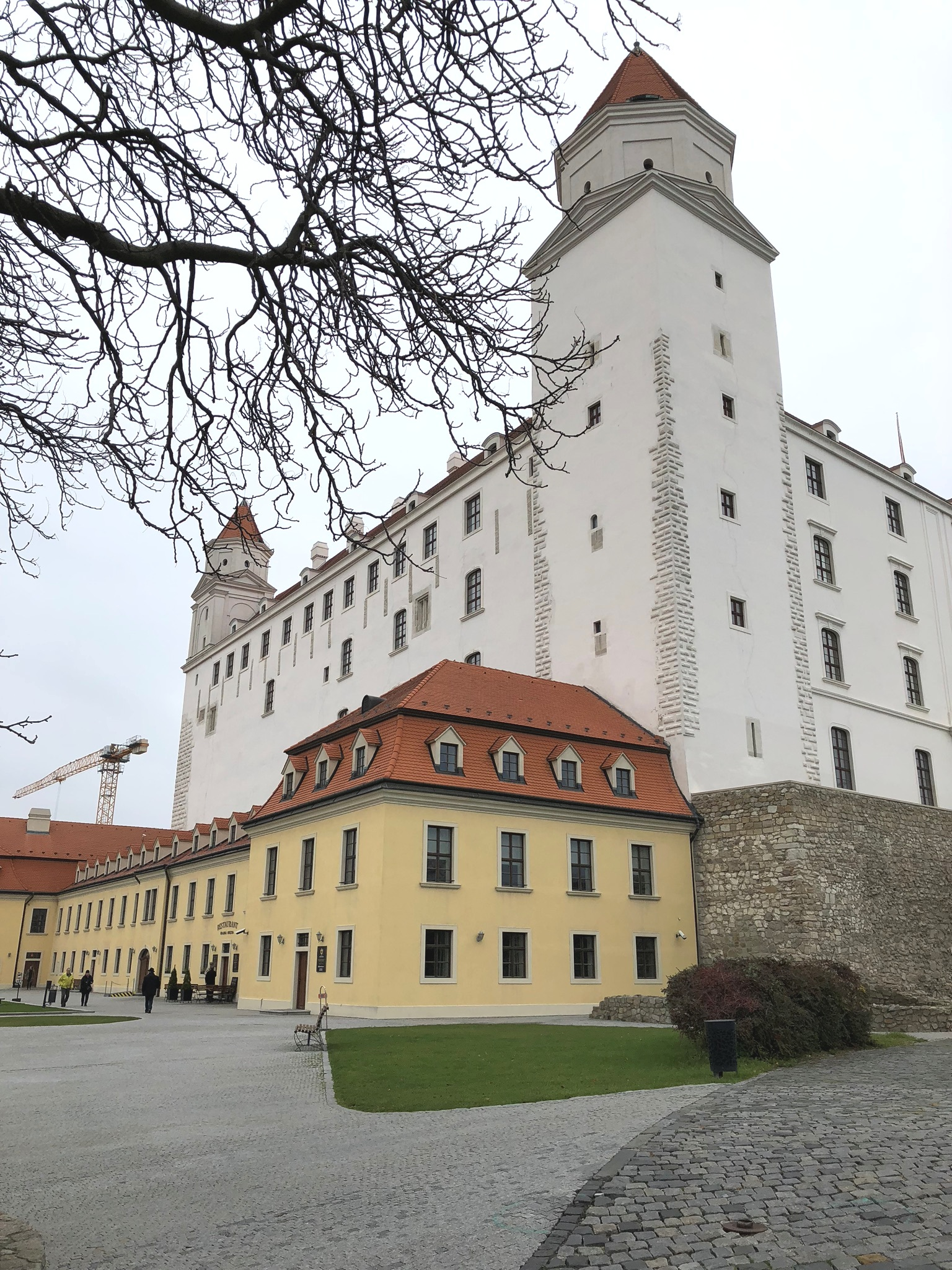 winter travel guide and tips for visiting bratislava, slovakia on livingforaged.com