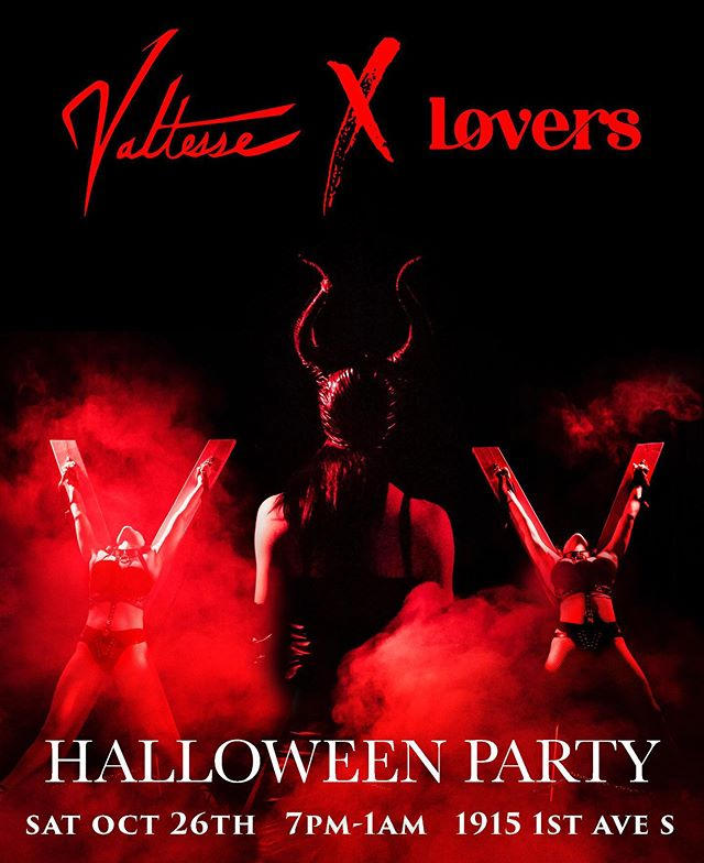THIS PARTY WILL SELL OUT! Don't miss your chance! 16 performers, immersive rooms, latex creatures, and more! Tickets available on our website www.valtesseproductions.com @loversstores