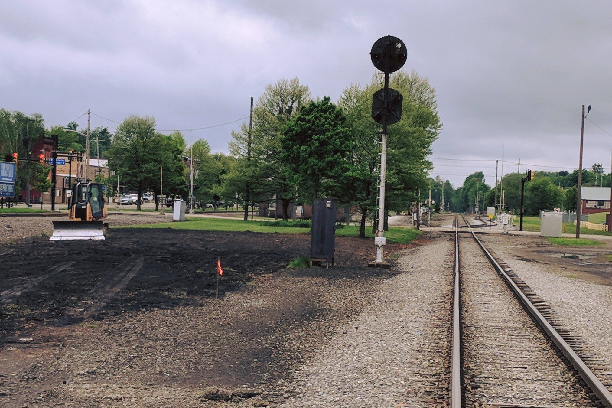 - railroad property purchase and redevelopment