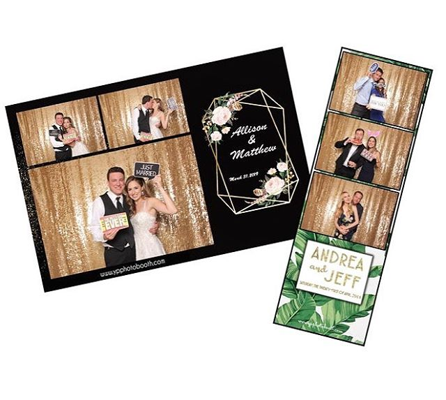 Ask us about our #photostrip designs! We customize everything to create exactly what you are looking for ✅  #miamiphotobooth #weddingplanner #miamiweddings #ypphotobooth