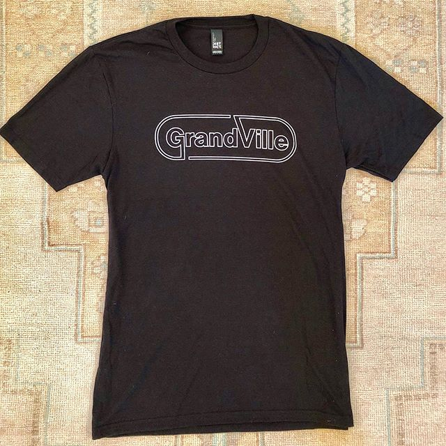 GrandVille super soft T-Shirts now available in gray & black - Venmo $20 to @GrandVilleMerch with your size, color, name & shipping address in the Venmo notes - shipping is free!