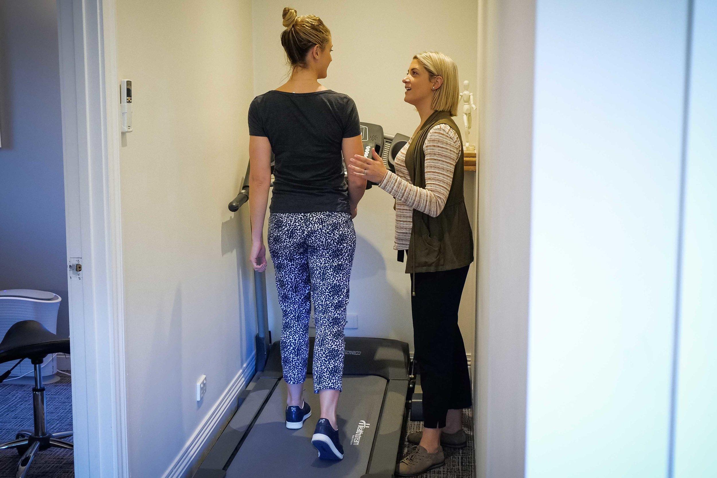 Podiatry Treadmill