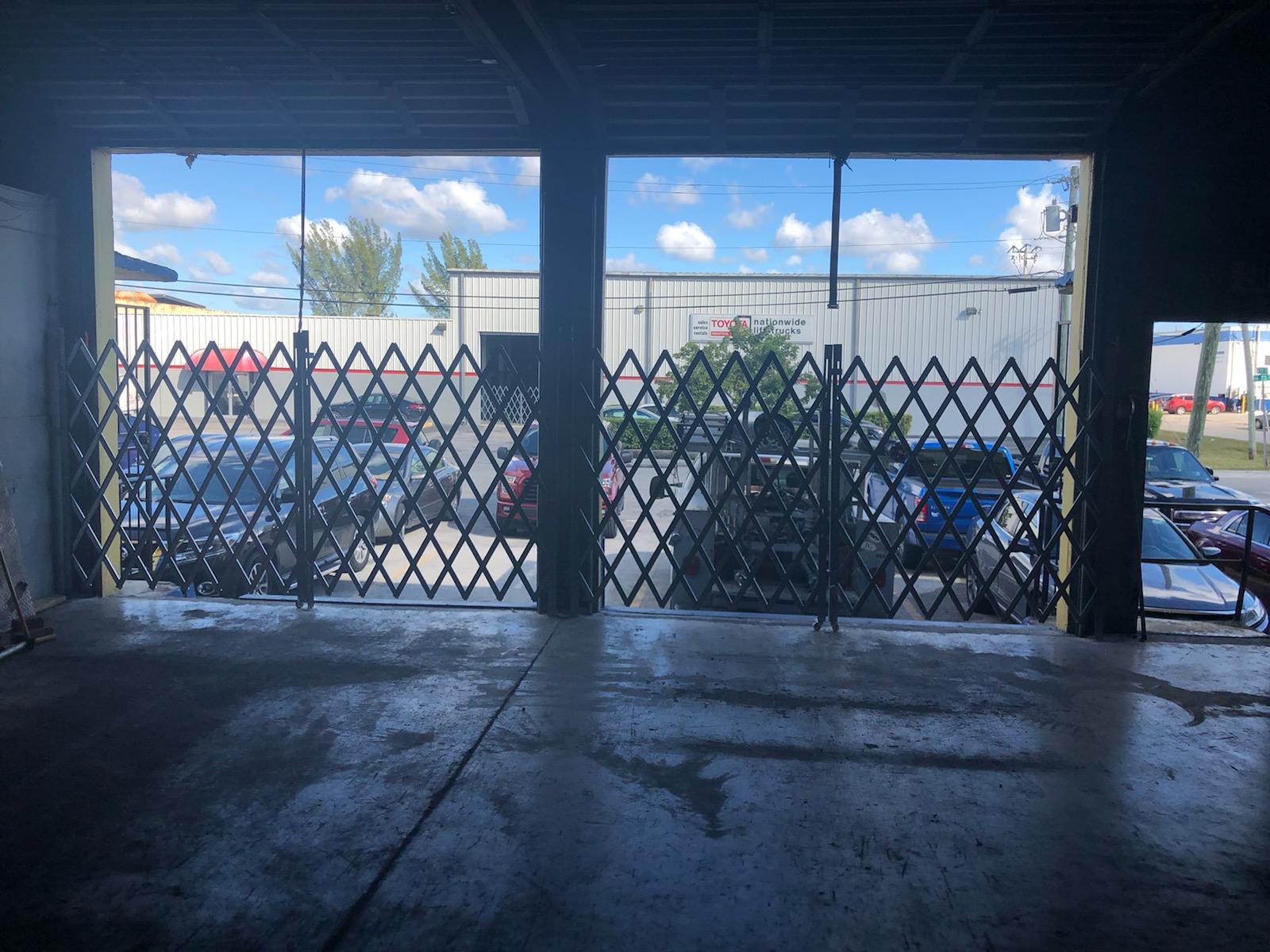 Bay Scissor Gates overhead doors