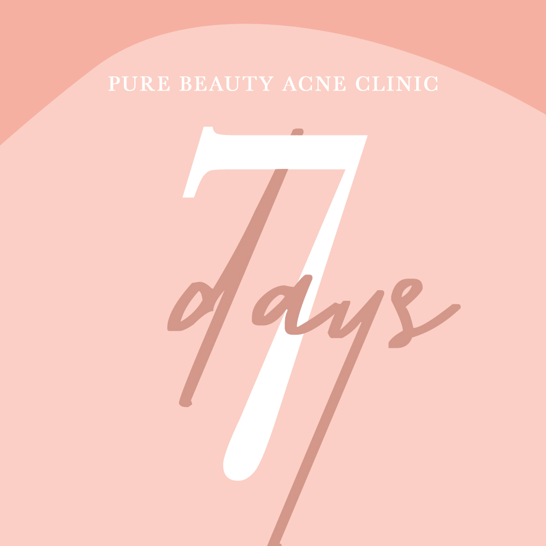 Countdown Event Flyer for Pure Beauty Skin Bar