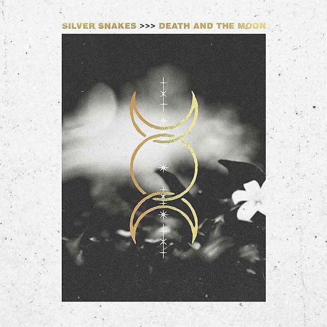 Have you picked up your copy? DEATH AND THE MOON is out now on all streaming platforms. Vinyl is available and CDs are on the way. Link in bio - #silversnakes #deathandthemoon #silversnakesband