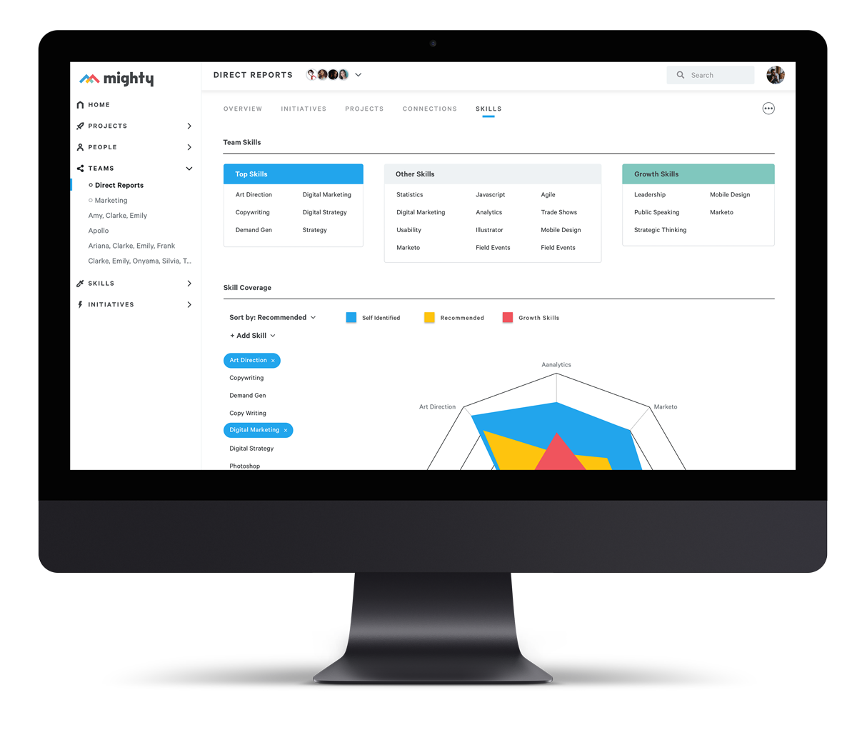 The modern Work Experience Platform - that connects work, performance, people, and skills.