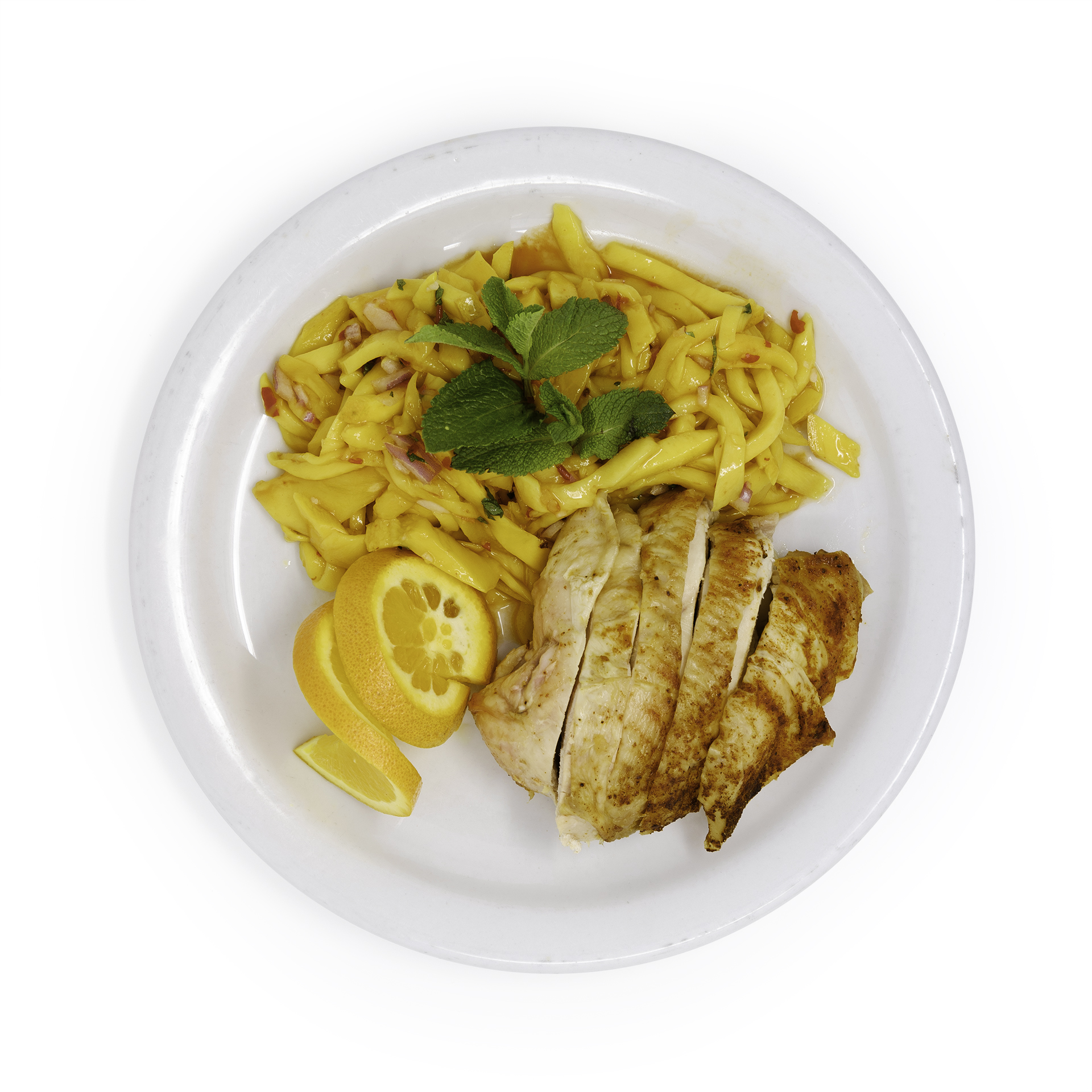 Mango Salad w Chicken Breast Overhead.jpg