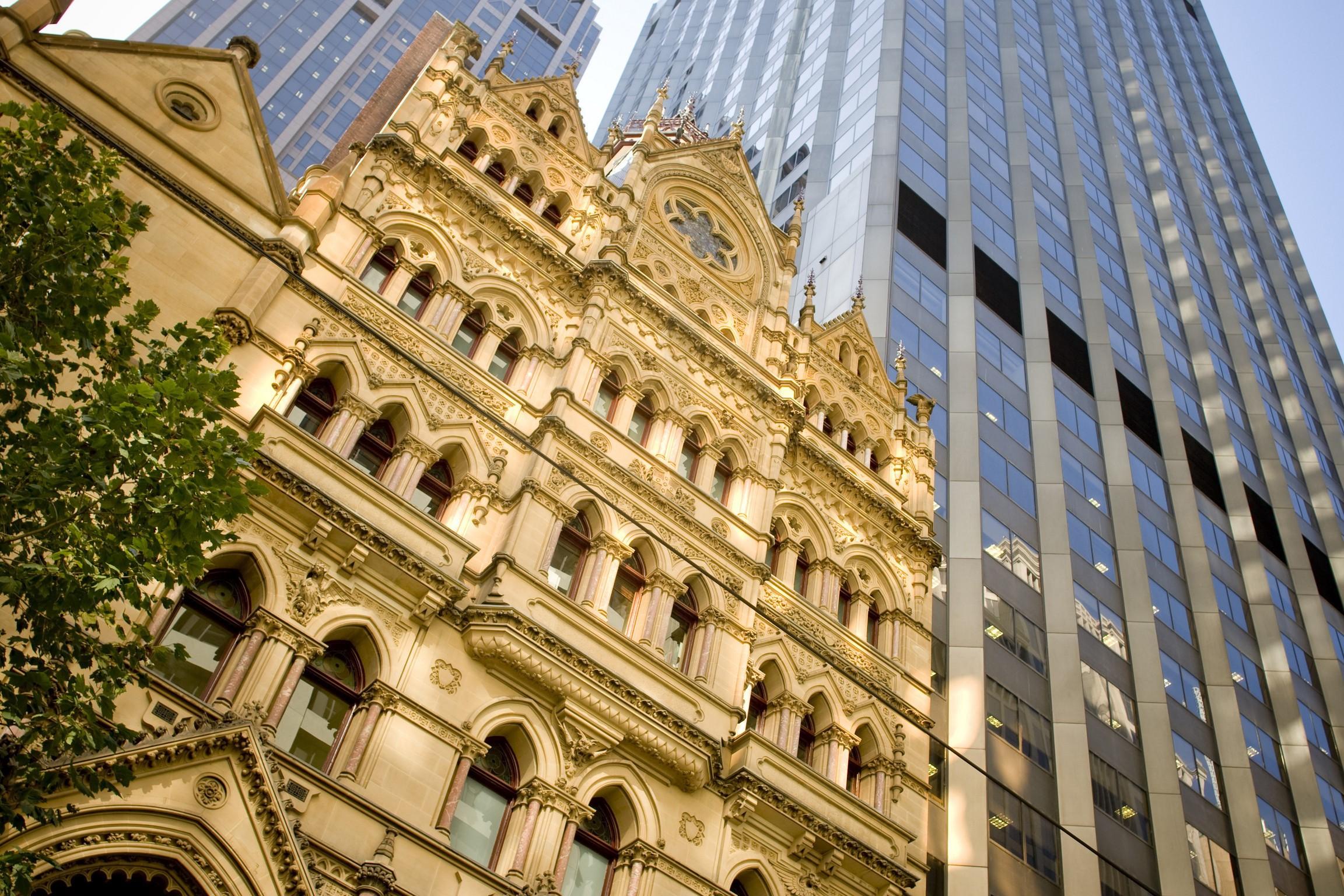 Melbourne Walking Tour-History tour-Gold Fever-Gothic Bank Melbourne
