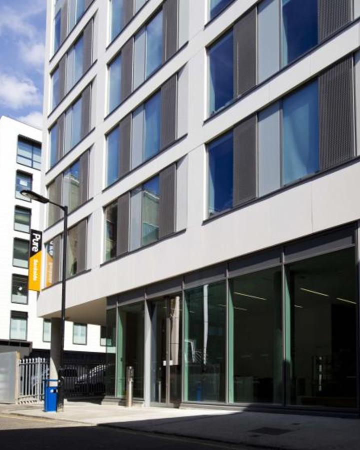 - Hashtag Bankside Campus offers clean and comfortable accommodation in London. The property has Wi-Fi access and laundry facilities (we recommend purchasing your own detergents and cleaning products – the laundry is pay per use). Please be kindly advised that we do not permit anyone under 18 years old to stay at our properties.