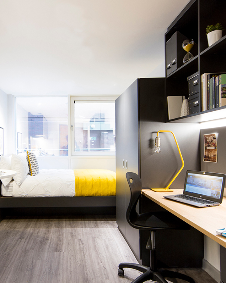 - Hashtag Barbican Campus offers clean and comfortable accommodation in London. The property has Wi-Fi access, laundry facilities and a variety of communal areas. Please be kindly advised that we do not permit anyone under 18 years old to stay at our properties.