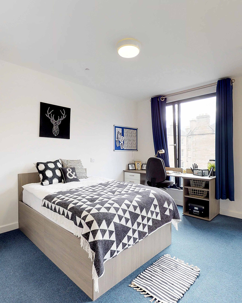 - Hashtag Edinburgh Haymarket Campus offers clean and comfortable accommodation in Scotland. The property has Wi-Fi access, laundry facilities and a variety of communal areas. Please be kindly advised that we do not permit anyone under 18 years old to stay at our properties.