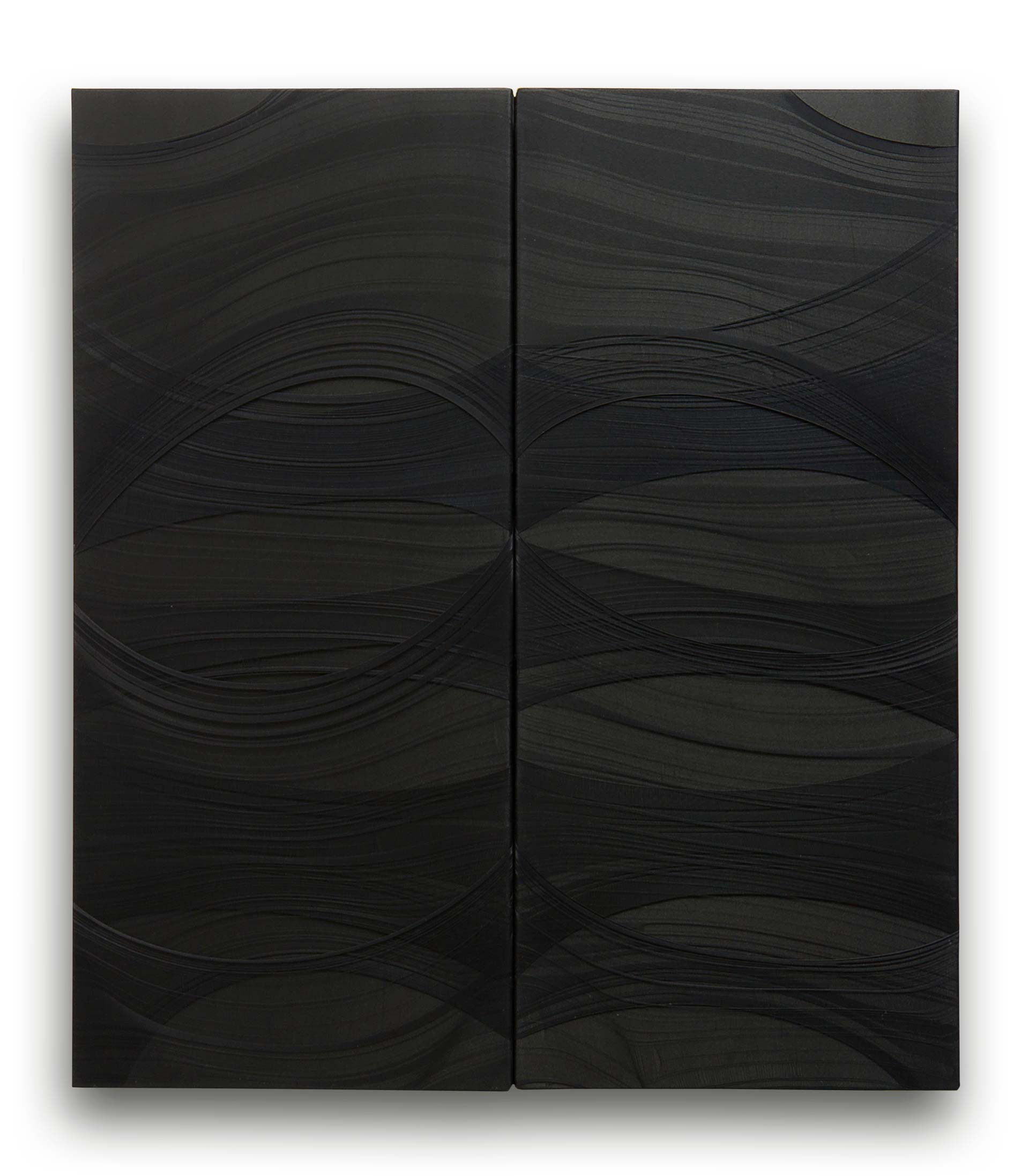 NERI • Komposition 189 (Pierre Soulages zu Ehren)