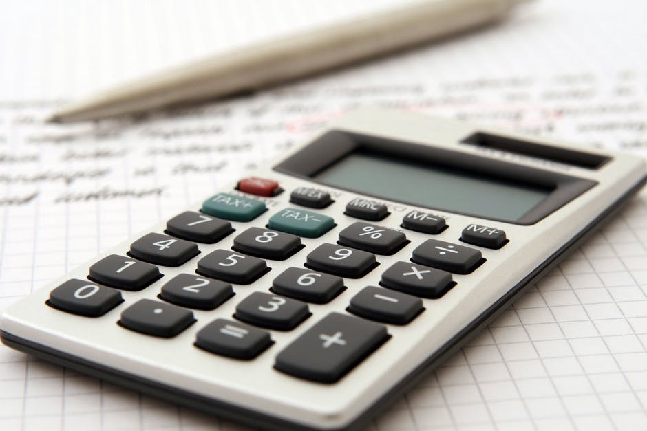 This will normally be a rapper, but this week it's a stock photo of a calculator to illustrate how boring business management is.