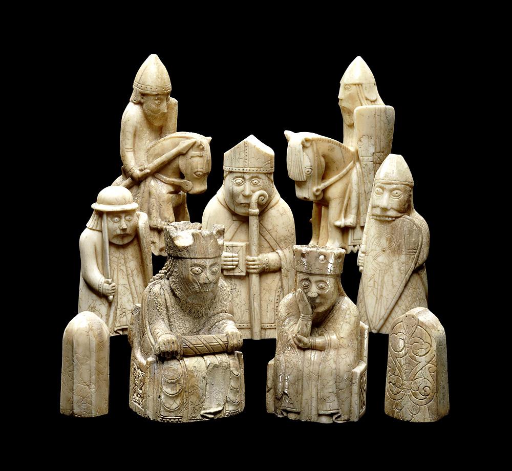 Фото: Trustees of the British Museum «Шахи острова Льюїс». Британський музей.