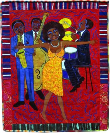 Фото:ARS, New York/courtesy ACA Galleries, New York «Джазові історії: Мама може співати, тато може підірвати # 1: Хтось вкрав моє розбите серце», 2004.