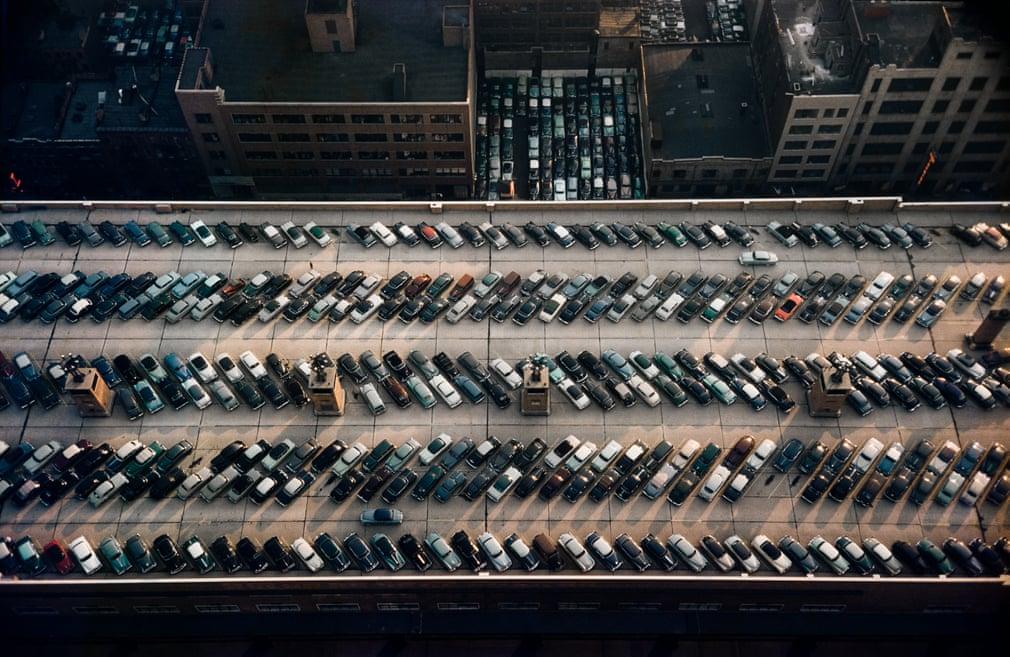 Дах автовокзалу, Нью-Йорк, 1953.