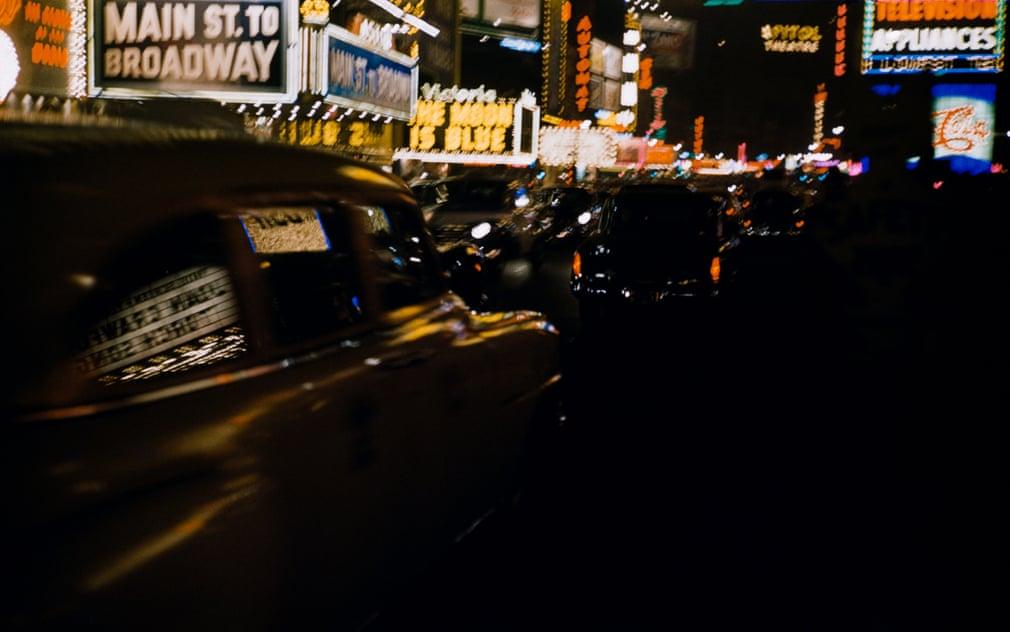 Крейсерська вночі, Нью-Йорк, 1953.