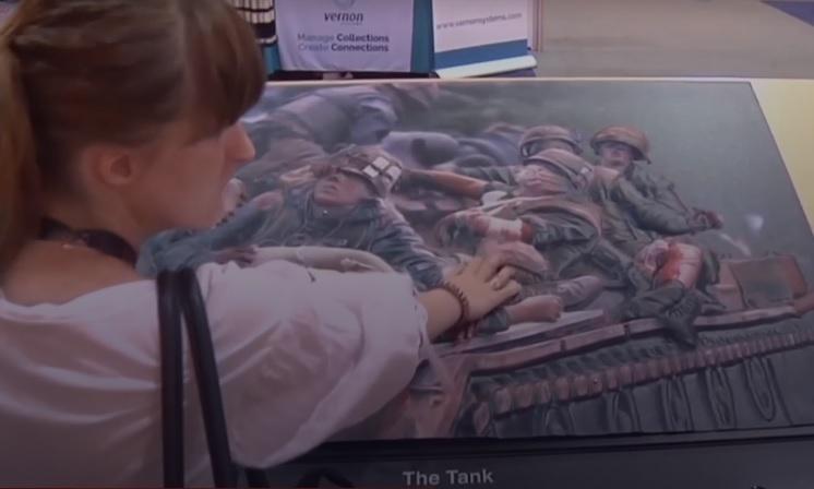 Технологія перетворює будь-яке зображення на рельєф / скріншот відео