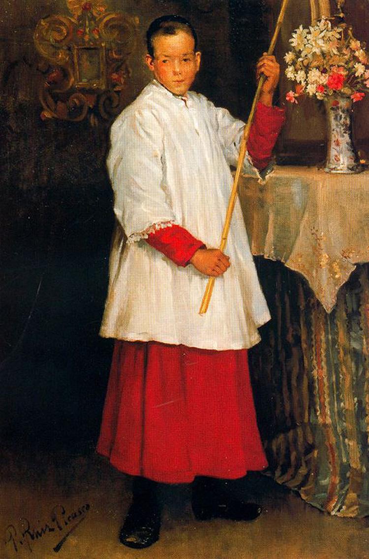«Прислужник», 1896