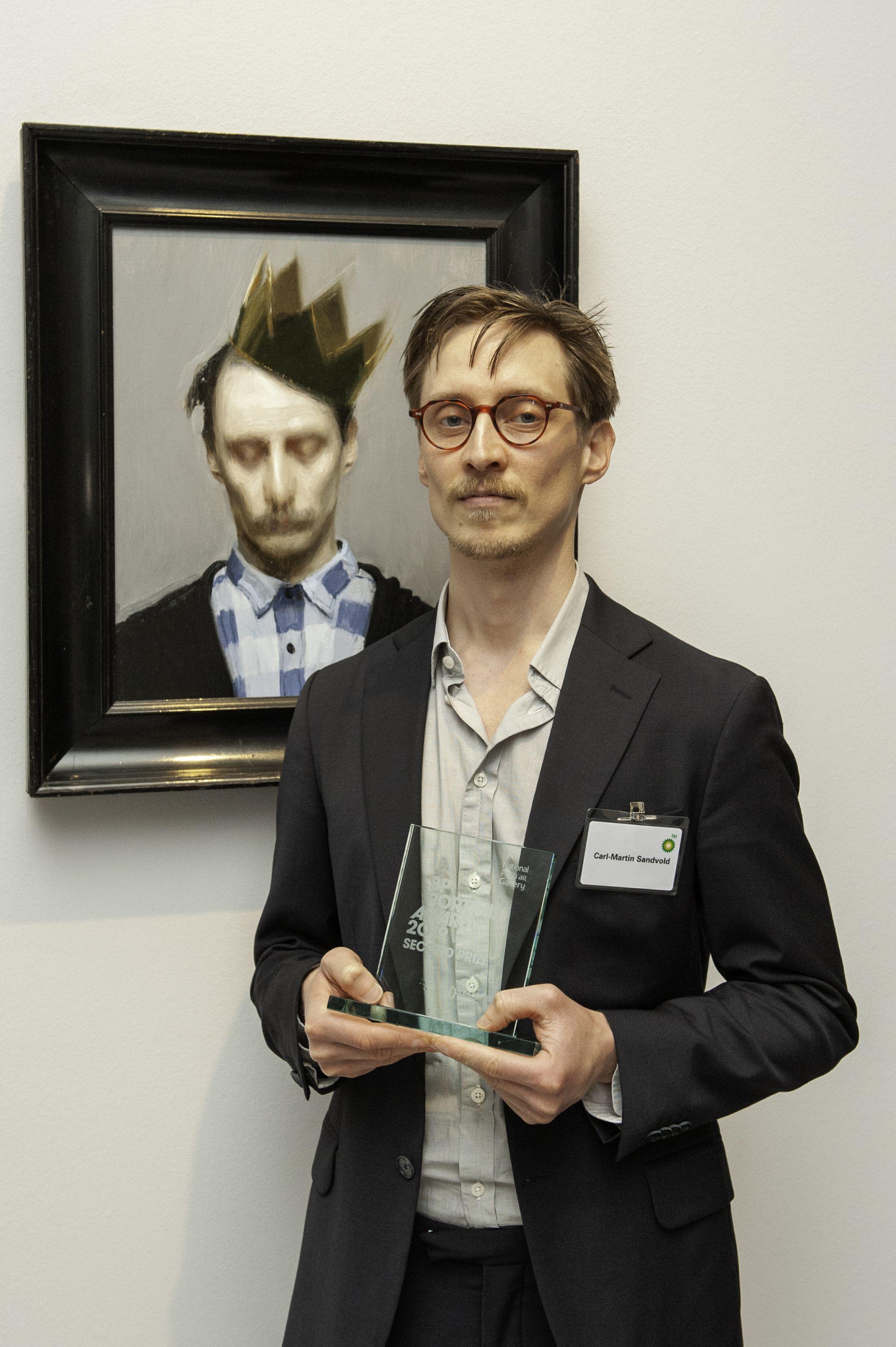 Карл-Мартін з премією