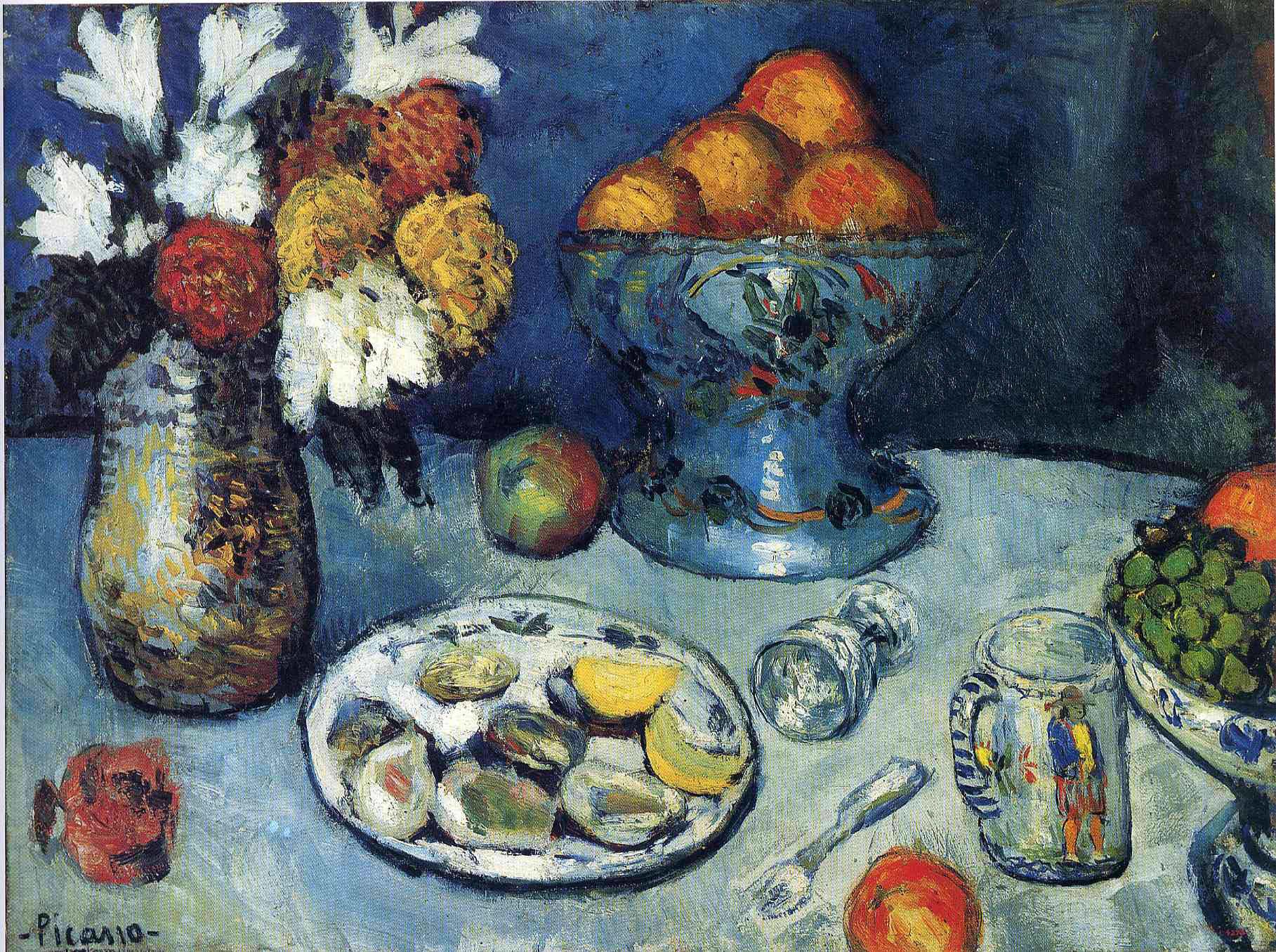 Пабло Пікассо «Десерт» 1901