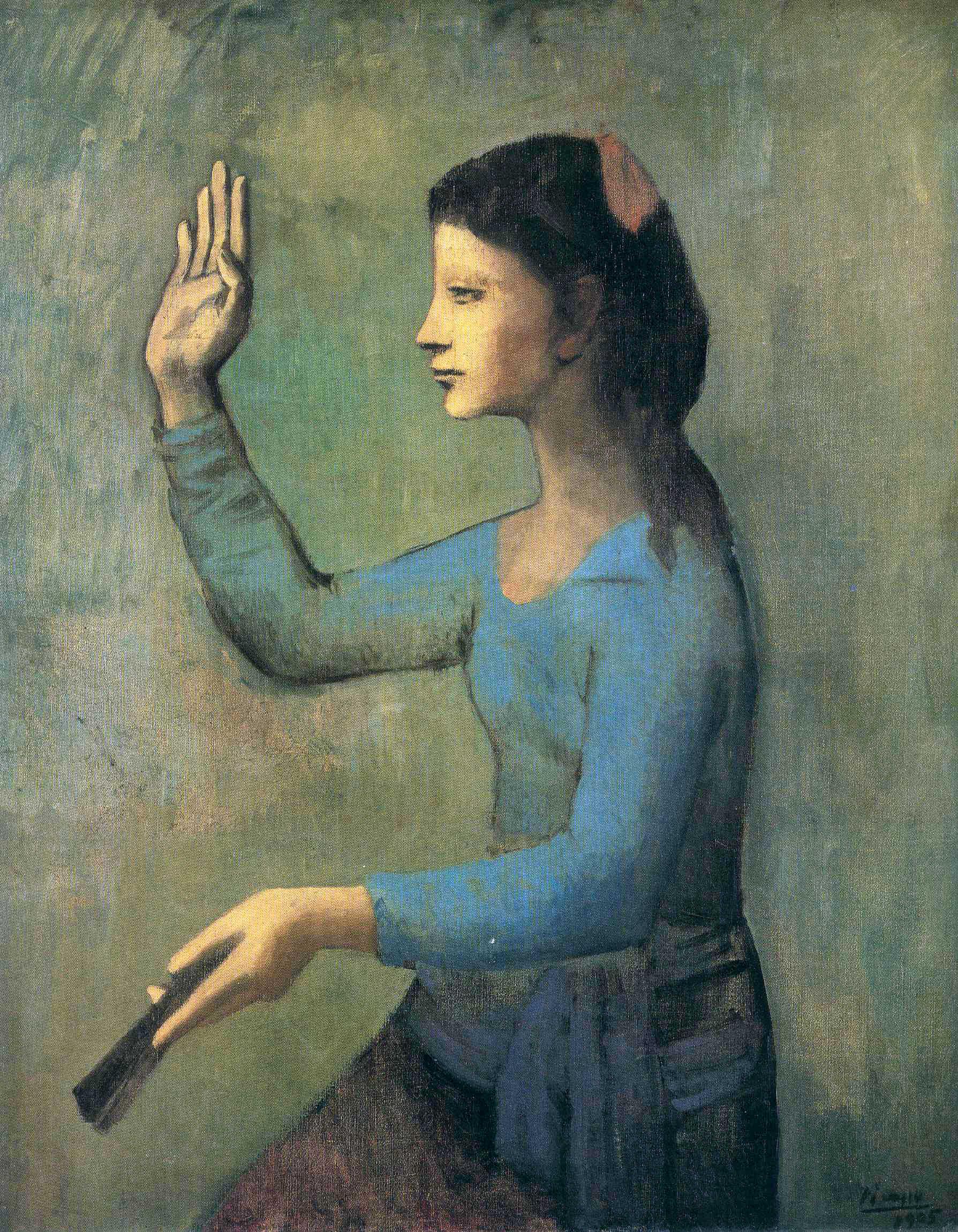 «Жінка з віялом» 1905