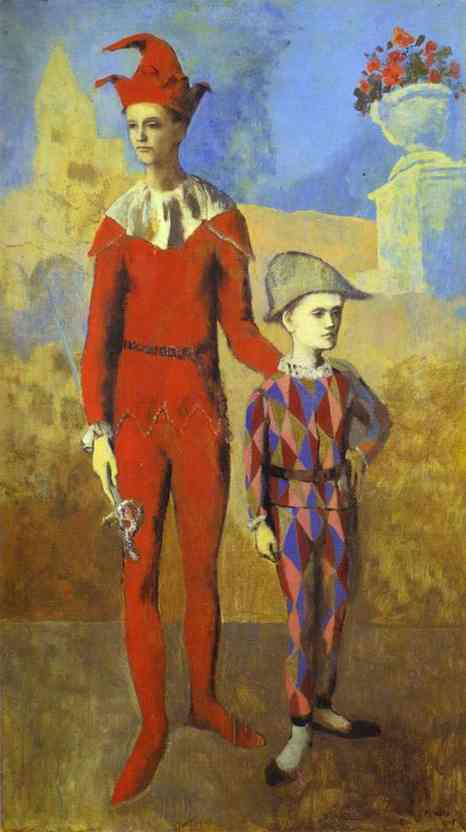 Акробат і молодий Арлекін, 1905