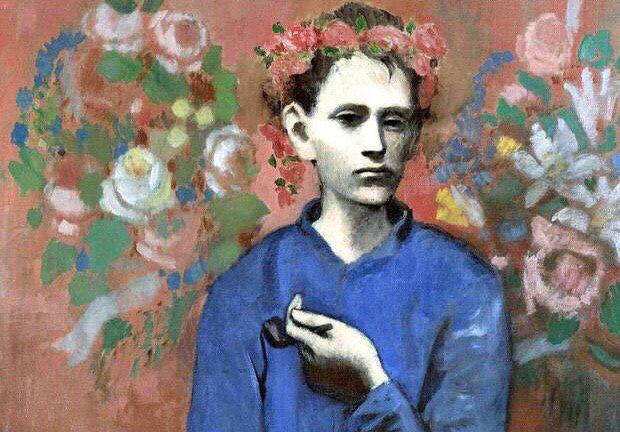 Хлопчик з трубкою, 1905 рік