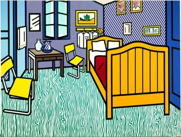 Спальня в Арлі, 1992