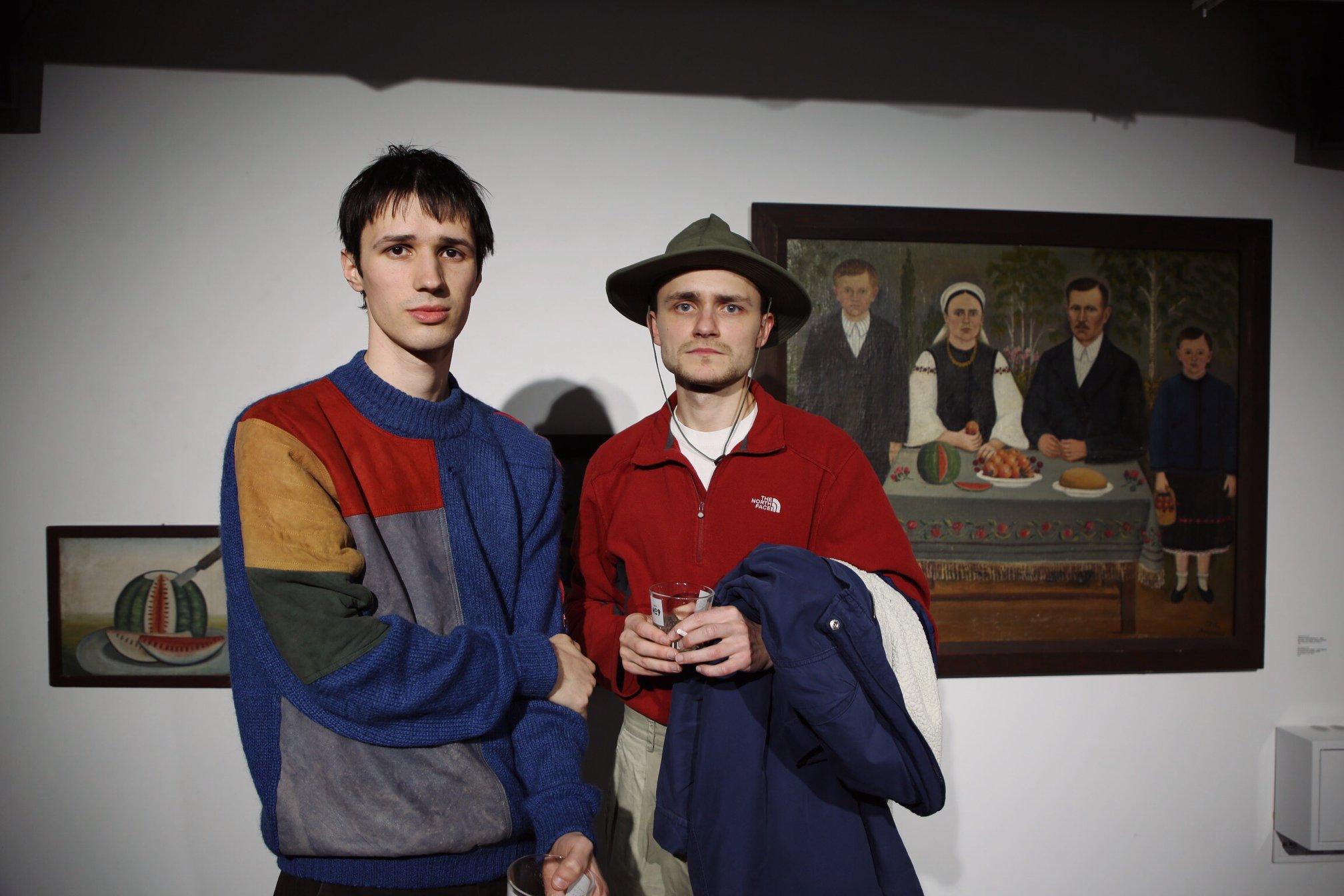 Фото: Ярема Малащук та Роман Хімей  BURSA Hotel Kyiv