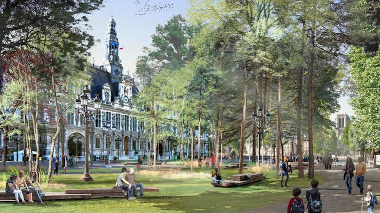 Ліс біля Отель-де-Віль