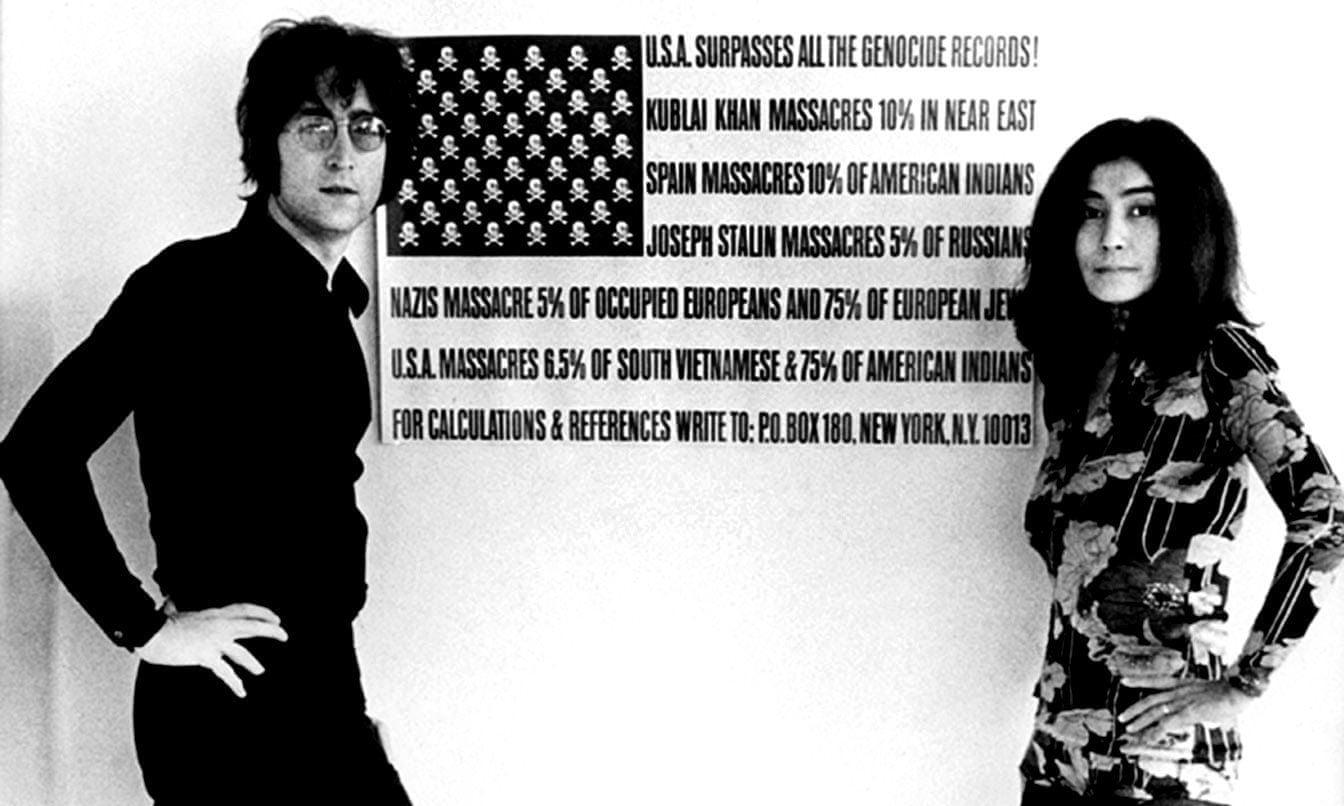 Фото: Gate/Everett / Rex Features. Джон Леннон і Йоко Оно