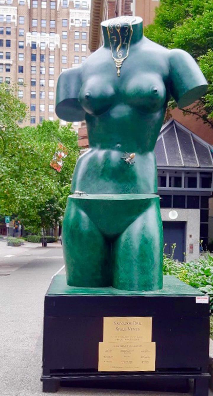 Світлина: Мистецька галерея у Ванкувері, «Космічна Венера»
