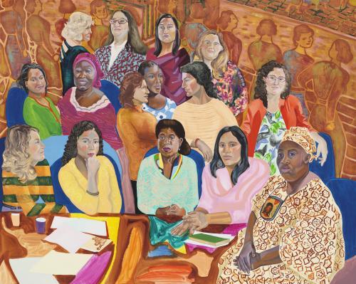 Аліза Нісенбаум Жіночий кабінет в Нью-Йорку, 2016