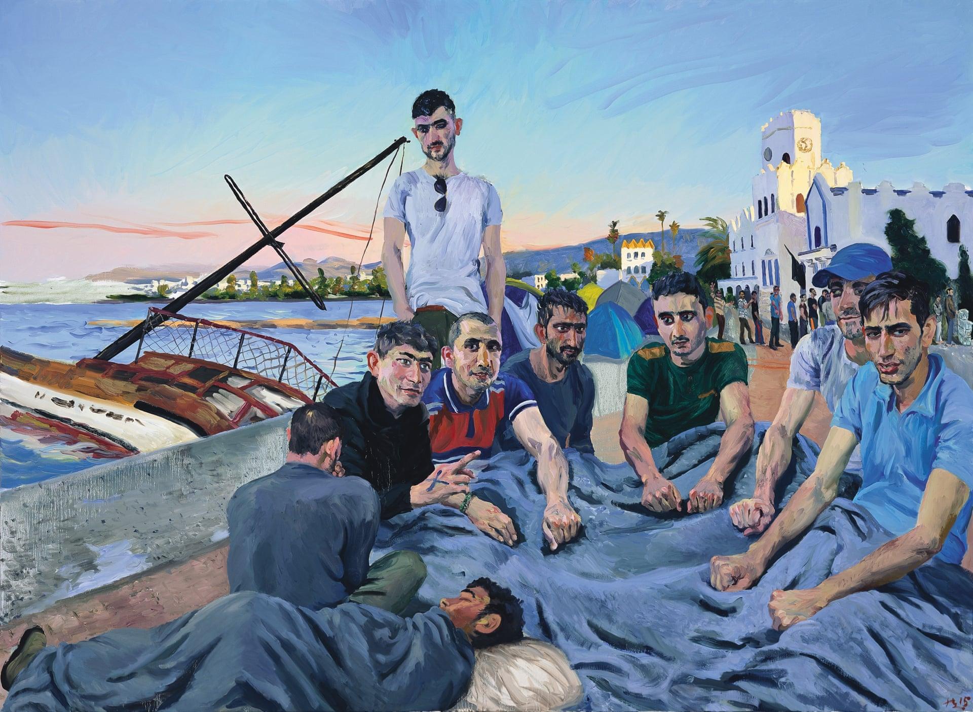 «Біженці 4 Лю Сяодун», 2015