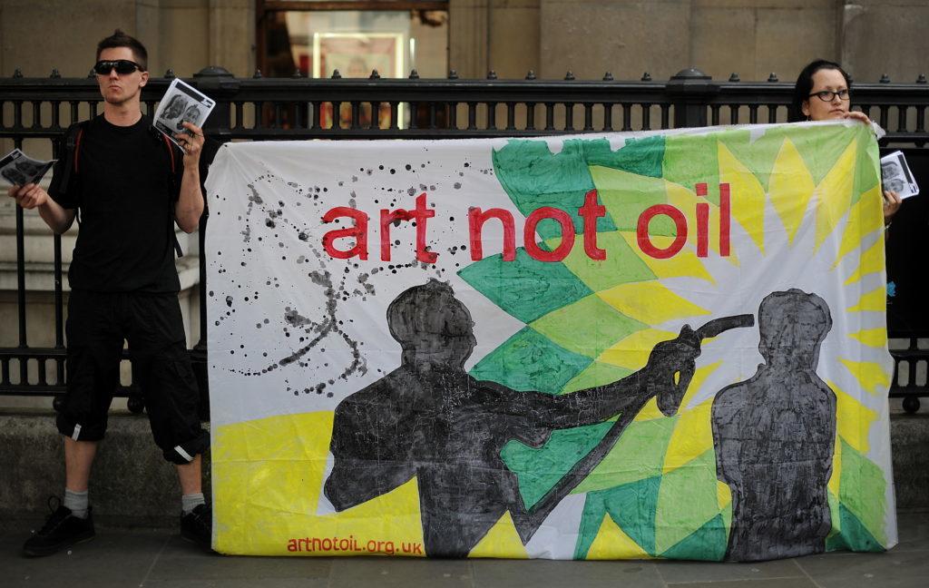 Світлина: Art Not Oil coalition